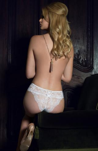 Ofelia white nohavičky  - Sexy-pradlo.sk