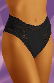 Wolbar - Abra black nohavičky