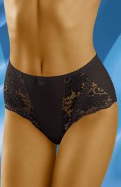 Wolbar - Nela black nohavičky