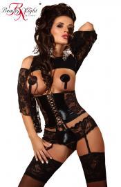 Beauty Night fashion - Priscilla black súprava