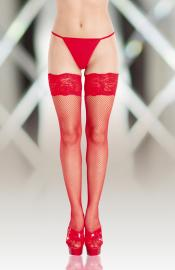 Softline Collection - 5517 red pančuchy