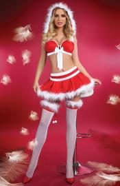 LivCo Corsetti Fashion - Little Miss Christmas kostým