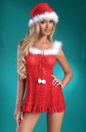 LivCo Corsetti Fashion - Christmas Bell kostým