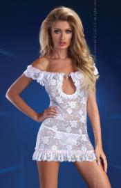 LivCo Corsetti Fashion - Mija white šaty