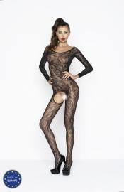 Passion - BS042 black bodystocking