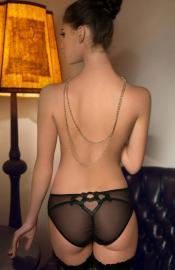 Roza - Lica black nohavičky