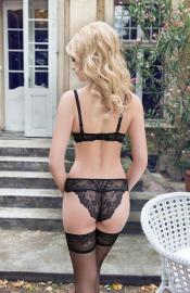 Roza - Ofelia black nohavičky