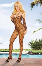 Electric Lingerie - EH216-BLK bodystocking